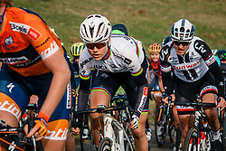 DIDERIKSEN, Amalie (DEN) of Boels Dolmans Cycling Team (NED) on the VAM-berg during the UCI Women's WorldTour Ronde van Drenthe at Drenthe, The Netherlands, 11 March 2017. Photo by Pim Nijland / PelotonPhotos.com | All photos usage must carry mandatory copyright credit (Peloton Photos | Pim Nijland)
