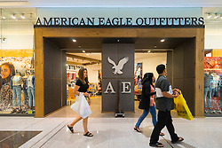 American Eagle Outfitters clothes shop in Dubai Mall Dubai United Arab Emirates