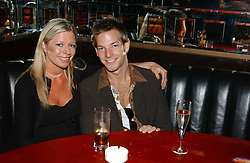 SEAN BROSNAN son of actor Pierce Brosnan and his sister CHARLOTTE at a party hosted by Frankie Dettori, Marco Pierre White and Edward Taylor to celebrate the launch of Frankie's Italian Bar & Grill at 3 Yeomans Row, London SW3 on 2nd September 2004.