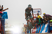 Emanuel Buchmann (GER, Bora Hansgrohe) during the 73th Edition of the 2018 Tour of Spain, Vuelta Espana 2018, Stage 15 cycling race, 15th stage Ribera de Arriba - Lagos de Covadonga 178,2 km on September 9, 2018 in Spain - Photo Luis Angel Gomez/ BettiniPhoto / ProSportsImages / DPPI