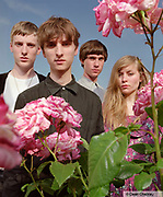 These New Puritans, a young band, Southend, UK 2006