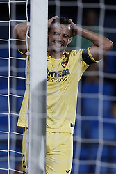 August 31, 2018 - Vila-Real, Castellon, Spain - Mario Gaspar of Villarreal CF reacts during the La Liga match between Villarreal CF and Girona FC at Estadio de la Ceramica on August 31, 2018 in Vila-real, Spain  (Credit Image: © David Aliaga/NurPhoto/ZUMA Press)