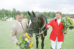 Tops Jan and Romo Alfonso Afscheid  Top Gun<br /> CSI-A Valkenswaard 1999<br /> Photo © Dirk Caremans