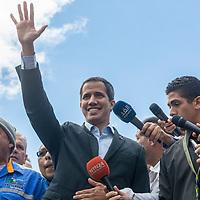 Apoyo del sector transporte al presidente (E) Juan Guaidó