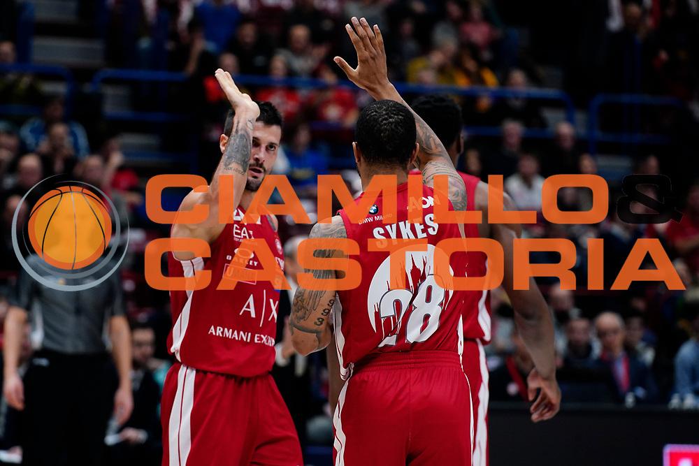 Keifer Sykes <br /> A|X Armani Exchange Olimpia Milano - Vanoli Cremona <br /> Basket Serie A LBA 2019/2020<br /> Milano 09 February 2020<br /> Foto Mattia Ozbot / Ciamillo-Castoria