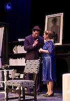 "Winnipesaukee Playhouse dress rehearsal for ""Harvey"" November 5, 2013.  Karen Bobotas/for the Laconia Daily Sun"