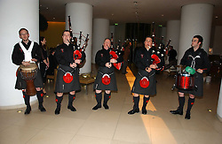 RED HOT CHILLI PIPERS at a Burns Night dinner in aid of CLIC Sargent and Children's Hospice Association Scotland held at St.Martin's Lane Hotel, St.Martin's Lane, London on 25th January 2007.<br />