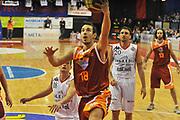 DESCRIZIONE : Biella Lega A 2011-12 Angelico Biella Acea Roma <br /> GIOCATORE : Antonio Maestranzi<br /> SQUADRA :  Acea Roma<br /> EVENTO : Campionato Lega A 2011-2012 <br /> GARA :Angelico Biella Acea Roma<br /> DATA : 25/01/2012<br /> CATEGORIA : Penetrazione Tiro<br /> SPORT : Pallacanestro <br /> AUTORE : Agenzia Ciamillo-Castoria/ L.Goria<br /> Galleria : Lega Basket A 2011-2012 <br /> Fotonotizia : Biella Lega A 2011-12  Angelico Biella Acea Roma<br /> Predefinita
