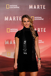 November 8, 2016 - Roma, RM, Italy - Italian diver Tania Cagnotto during Red Carpet of the premier of Mars, the largest production ever made by National Geographic  (Credit Image: © Matteo Nardone/Pacific Press via ZUMA Wire)