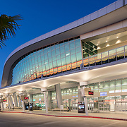 Demattei Wong Architects, Tucker Sadler Architects, San Diego Airport, Airport Parking, San Diego, California, Airport Design, Solar Powered Art Installation, San Diego County Regional Airport Authority, Sundt Construction, Rental Car Consolidation Facility, San Diego Architectural Photographer, Southern California Architectural Photographer