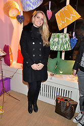 LADY KITTY SPENCER at a party hosted by Melodi Horne & Pentreath & Hall at 17 Rugby Street, Bloomsbury, London on 12th February 2015.