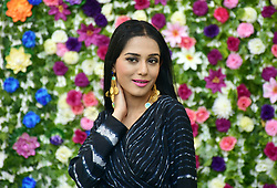 January 29, 2018 - Mumbai, India - Indian film actress Amrita Rao seen during photo shoot for the casual wear brand Flowery at Madh Island in Mumbai (Credit Image: © Azhar Khan/SOPA via ZUMA Wire)