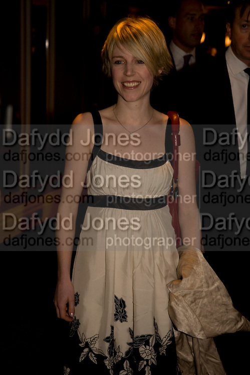 CLARE RAINBOW, The Laurence Olivier Awards, The Grosvenor House Hotel. Park Lane. London. 8 March 2009 *** Local Caption *** -DO NOT ARCHIVE -Copyright Photograph by Dafydd Jones. 248 Clapham Rd. London SW9 0PZ. Tel 0207 820 0771. www.dafjones.com<br /> CLARE RAINBOW, The Laurence Olivier Awards, The Grosvenor House Hotel. Park Lane. London. 8 March 2009