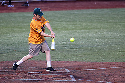 04 August 2018: Marc Strauss. Legends Game for the Miracle League at Corn Crib Stadium on the campus of Heartland Community College in Normal Illinois<br /> <br /> Game featured retired MLB players from the ST. Louis Cardinals and the Chicago Cubs...  Derek Lee, Bobbie Dernier, Kyle Farnsworth, Les Lancaster, Ray Lankford, Kerry Robinson, Jim Edmonds, and Aramis Ramirez