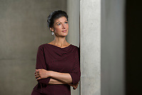 16 MAY 2016, BERLIN/GERMANY:<br /> Sahra Wagenknecht, MdB, Die Linke, Fraktionsvorsitzende DIe Linke Bundestagsfraktion, Jakob-Kaiser-Haus, Deutscher Bundestag<br /> IMAGE: 20170516-02-019