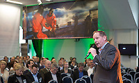 AMSTERDAM - Nationaal Golf Congres & Beurs 2015. NVG . PGA directeur Frank Kirsten. FOTO KOEN SUYK