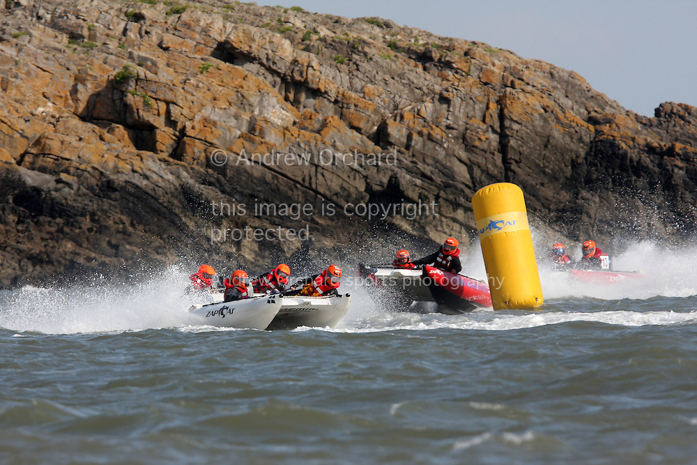 Zapcat racing, Barry Island, South Wales on Sunday 8th August 2010. pic by Andrew Orchard