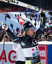 06.02.2011, Hannes-Trinkl-Strecke, Hinterstoder, AUT, FIS World Cup Ski Alpin, Men, Hinterstoder, Riesentorlauf, im Bild zweiter Kjetil Jansrud (NOR) // Kjetil Jansrud (NOR) second Place during FIS World Cup Ski Alpin, Men, Giant Slalom in Hinterstoder, Austria, February 06, 2011, EXPA Pictures © 2011, PhotoCredit: EXPA/ J. Feichter