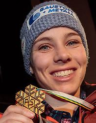 07.02.2017, St. Moritz, SUI, FIS Weltmeisterschaften Ski Alpin, St. Moritz 2017, TirolBerg Seefeld Abend, im Bild Nicole Schmidhofer (AUT, Weltmeisterin) // World Champion Nicole Schmidhofer of Austria during the Seefeld Night at TirolBerg as a side event for the FIS Ski World Championships 2017. St. Moritz, Switzerland on 2017/02/07. EXPA Pictures © 2017, PhotoCredit: EXPA/ Johann Groder