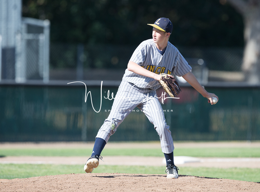 (Photograph by Bill Gerth/5/8/17) Lincoln vs Westmont in a BVAL FS Baseball Game at Westmont High School, Campbell CA on 5/8/17
