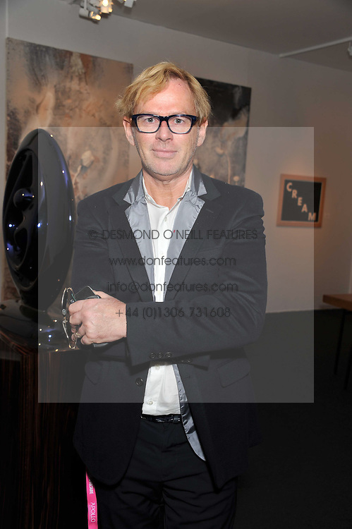 DAVID COLLINS at the judging of the Moet Hennessy PAD  London Prize 2011 as part of the Pavilion of Art & Design  held in Berkeley Square, London on 10th October 2011.