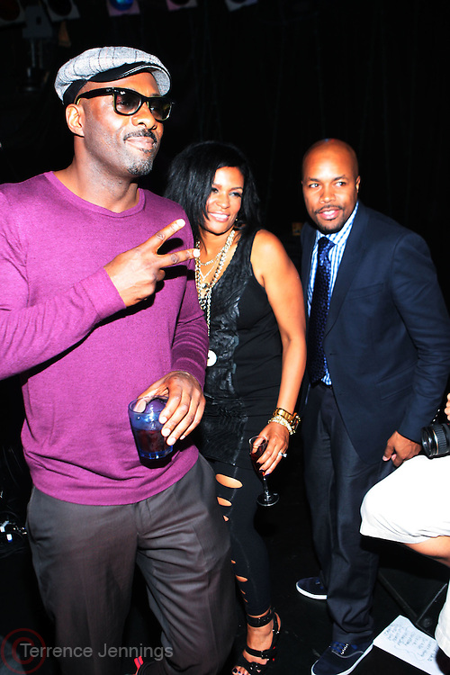 24 June-New York, NY-   l to r: Idris Elba, Beverly Bond, and D-Nice ontstage at the 1st Annual Black Girl Rock! & Soul Tour Celebrating Dynamic Woman in Music - LA Jam Session Presented by GM and held at the Roxy on June 24, 2011 in Los Angeles, California . Photo Credit: Terrence Jennings