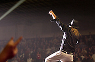 Kid Rock performs at Hara Arena, Tuesday, January 29, 2008.