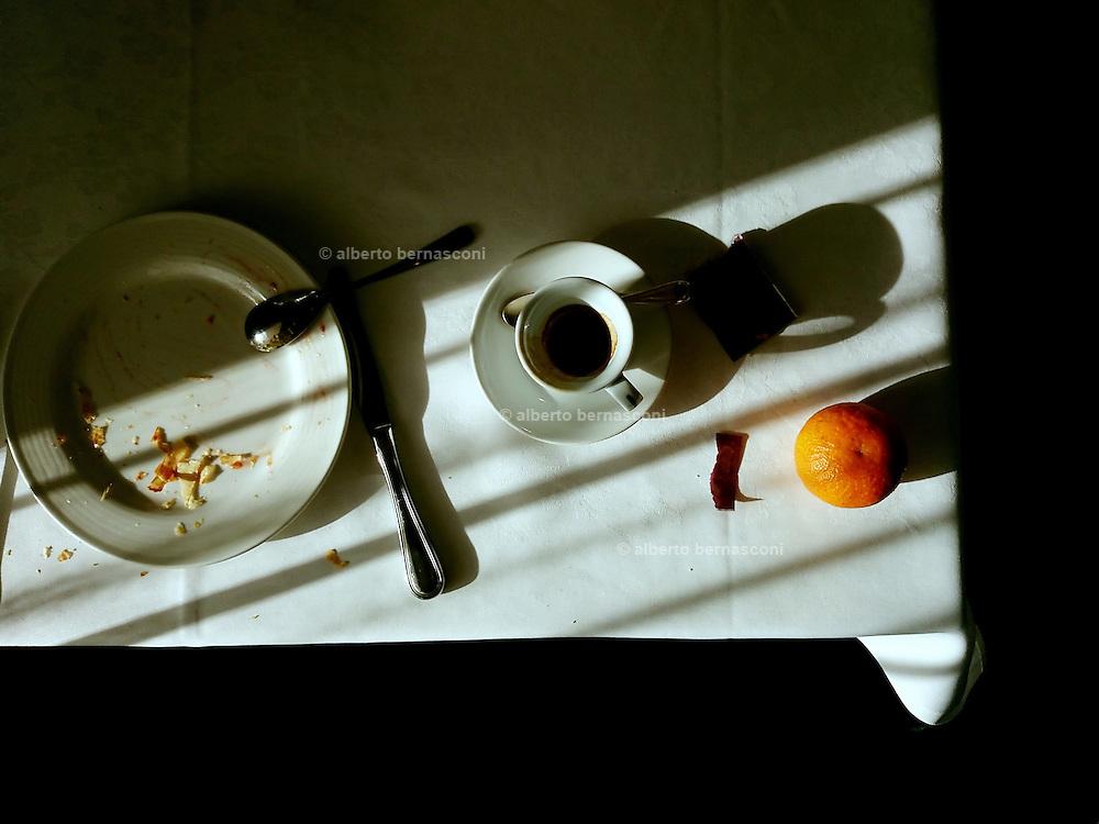 Milan , morning brakfast