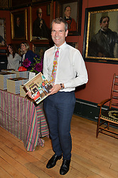 BEN PENTREATH at a party to celebrate the publication of English Houses by Ben Pentreath held at the Art Worker's Guild, 6 Queen Square, London on 28th September 2016.