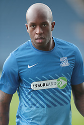 Southend United's Anthony Straker - Photo mandatory by-line: Nigel Pitts-Drake/JMP - Tel: Mobile: 07966 386802 05/10/2013 - SPORT - FOOTBALL - Kassam Stadium - Oxford - Oxford United v Southend United - Sky Bet League 2