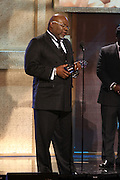 January 12, 2013- Washington, D.C- Bishop T.D. Jakes(Honoree) receives his award at the 2013 BET Honors held at the Warner Theater on January 12, 2013 in Washington, DC. BET Honors is a night celebrating distinguished African Americans performing at exceptional levels in the areas of music, literature, entertainment, media service and education. (Terrence Jennings)
