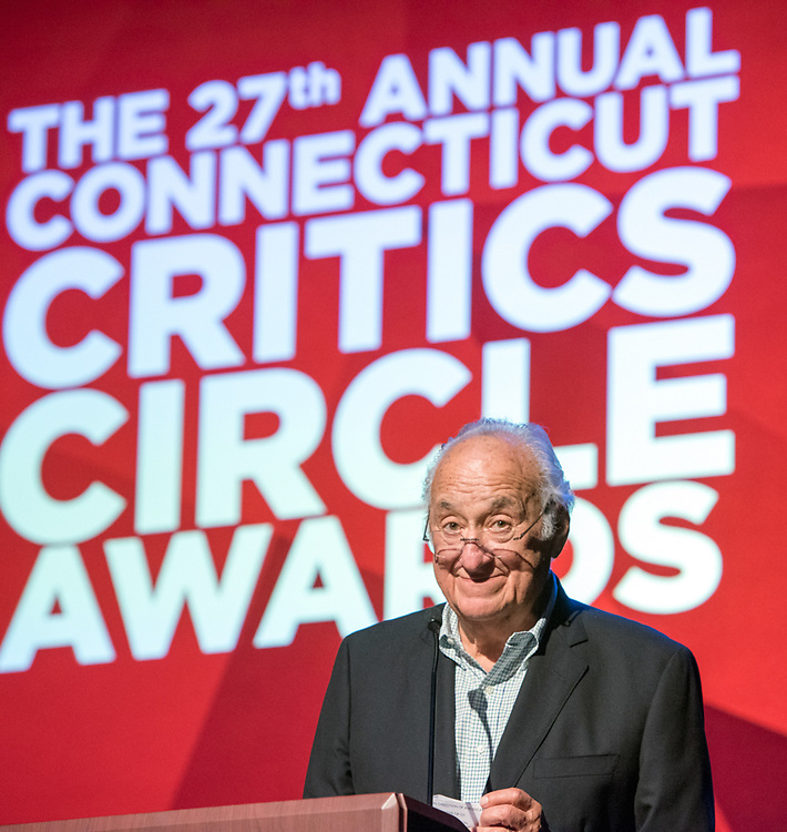 Photo by Mara Lavitt<br /> June 26, 2017<br /> Fairfield, CT<br /> The Connecticut Critics Circle 27th Annual Awards, held at the Edgerton Center for the Performing Arts, Sacred Heart University, Fairfield. Presenter Jerry Adler.