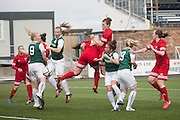 - Forfar Famington v Hibernian Ladies in the Scottish Womens Premier League at Station Park, Forfar<br /> <br /> <br />  - &copy; David Young - www.davidyoungphoto.co.uk - email: davidyoungphoto@gmail.com