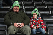 FGR fans during the EFL Sky Bet League 2 match between Forest Green Rovers and Plymouth Argyle at the New Lawn, Forest Green, United Kingdom on 16 November 2019.