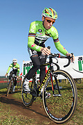 ITALY / ITALIE / ROME / CYCLING / WIELRENNEN / CYCLISME / CYCLOCROSS / CYCLO-CROSS / VELDRIJDEN / WERELDBEKER / WORLD CUP / COUPE DU MONDE / TRAINING / IPPODROMO CAPANNELLE / SVEN VANTHOURENHOUT / SVEN NYS /