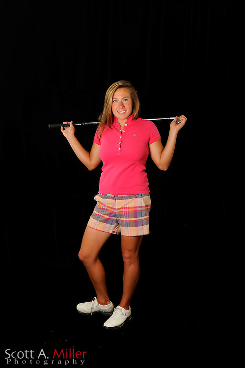 Calle Nielson during a portrait shoot prior to the Symetra Tour's Florida's Natural Charity Classic at the Lake Region Yacht and Country Club on March 19, 2012 in Winter Haven, Fla. ..©2012 Scott A. Miller.
