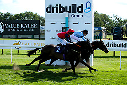 Audio ridden by Thore Hammer Hansen trained by Richard Hannon, Alfies Watch ridden by Fergus Sweeney trained by John O'Shea in The ITEC EPF Novice Median Auction Stakes (Class 5) - Mandatory by-line: Robbie Stephenson/JMP - 04/09/2019 - PR - Bath Racecourse - Bath, England - Bath Races