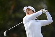 Sei Young Kim (Kor) competes during the final round of LPGA Evian Championship 2018, Day 7, at Evian Resort Golf Club, in Evian-Les-Bains, France, on September 16, 2018, Photo Philippe Millereau / KMSP / ProSportsImages / DPPI