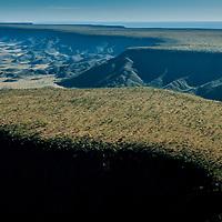 Vista aerea da Serra do Espirito Santo, Parque Estadual do Jalapão, Tocantins, Brasil, foto de Ze Paiva, Vista Imagens.