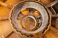 Interior of Desert View tower