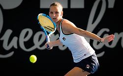 January 2, 2019 - Brisbane, AUSTRALIA - Karolina Pliskova of the Czech Republic in action during her second-round match at the 2019 Brisbane International WTA Premier tennis tournament (Credit Image: © AFP7 via ZUMA Wire)