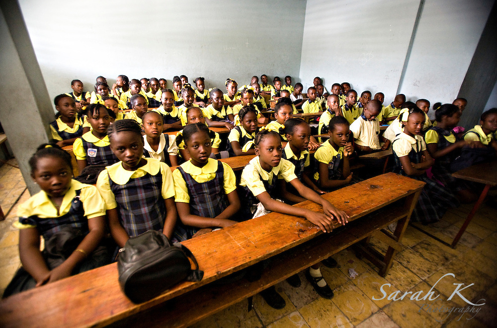 Haitian parents make tremendous sacrifices to enable their children to attend school, often having little money left over for basic necessities such as food.