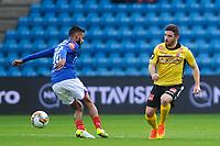 Fotball , Tippeligaen , Eliteserien<br /> 09.04.17 , 20170409<br /> Vålerenga - Sandefjord<br /> Pau Vicente Morer - Sandefjord<br /> Ghayas Zahid - VIF<br /> Foto: Sjur Stølen / Digitalsport