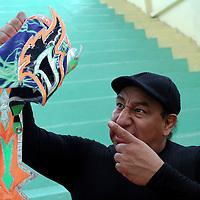 Toluca, Méx.- En conferencia de prensa  los luchadores Atomic Boy, Drago, El Apache y Fénix, anunciaron la función de lucha libre AAA que este jueves se realizara en Toluca donde la gente disfrutará de un espectáculo de primer nivel con luchadores aéreos, la belleza y talento de la división femenil AAA,  el Campeón Crucero AAA, Daga, y la Reina de Reinas, Faby Apache.  Agencia MVT / José Hernández