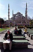 "Outside the ""Blue Mosque"" in Sultanahmet..ISTANBUL, Androniki Christodoulou/WorldPictureNews"