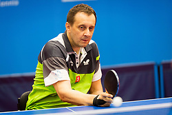 RIAPOS Jan during day 1 of 15th EPINT tournament - European Table Tennis Championships for the Disabled 2017, at Arena Tri Lilije, Lasko, Slovenia, on September 28, 2017. Photo by Ziga Zupan / Sportida