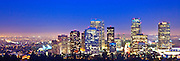 Panoramic Photo Of Downtown Los Angeles Skyline