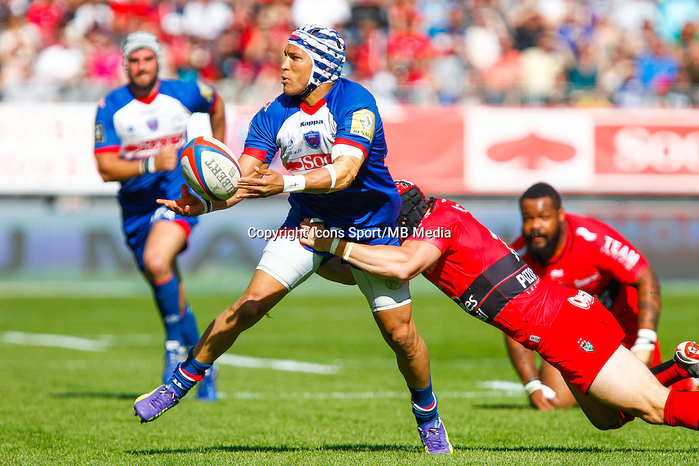 Gio APLON  - 11.04.2015 - Grenoble / Toulon  - 22eme journee de Top 14 <br />