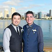 Alfred and Kurt's Wedding Peohe's Coronado 2017