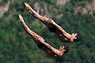 Team BRASIL PARISI Hugo RONDINELLI Jackson BRA<br /> Bolzano, Italy <br /> 22nd FINA Diving Grand Prix 2016 Trofeo Unipol<br /> Diving<br /> Men's 10m synchronised platform final <br /> Day 01 15-07-2016<br /> Photo Giorgio Perottino/Deepbluemedia/Insidefoto